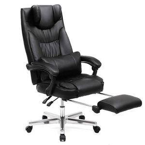 Fauteuil achat vente fauteuil pas cher cdiscount - Fauteuil de bureau avec appui tete ...