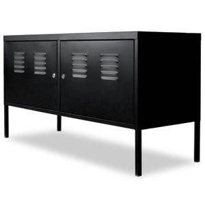 Téléviseur LED vidaXL Meuble de téléviseur 118 x 40 x 60 cm Noir