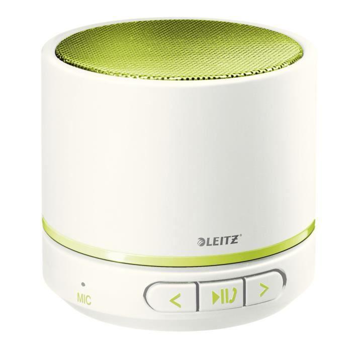LEITZ Mini enceinte Bluetooth WOW - Vert