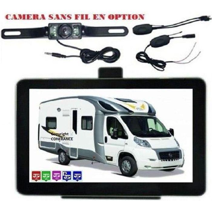 Gps camping car 7 pouces avec aires de services - Achat   Vente pas cher f39ef2856203