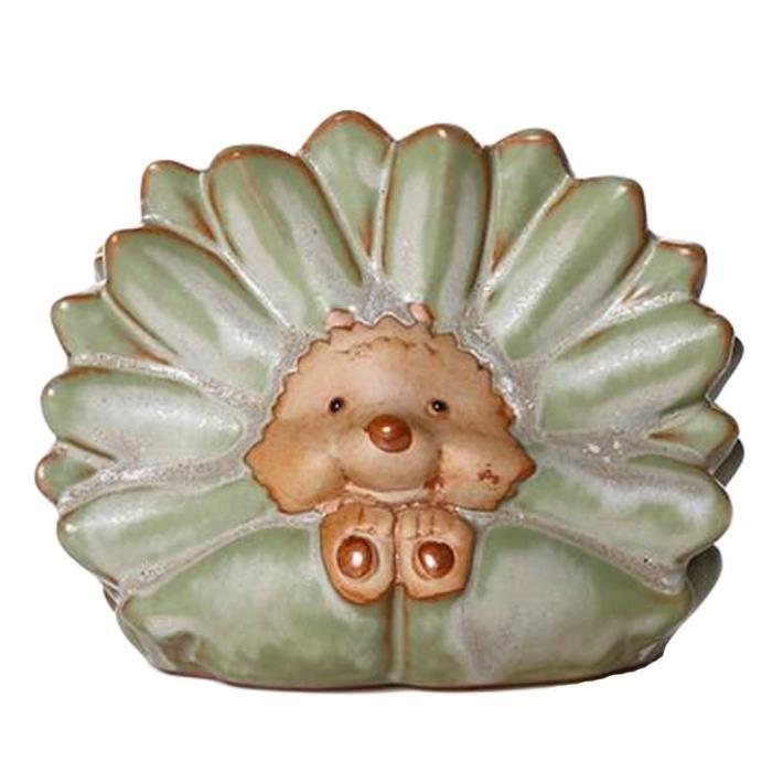 Tortue en céramique peint à la main pour le jardin, décorations de ...