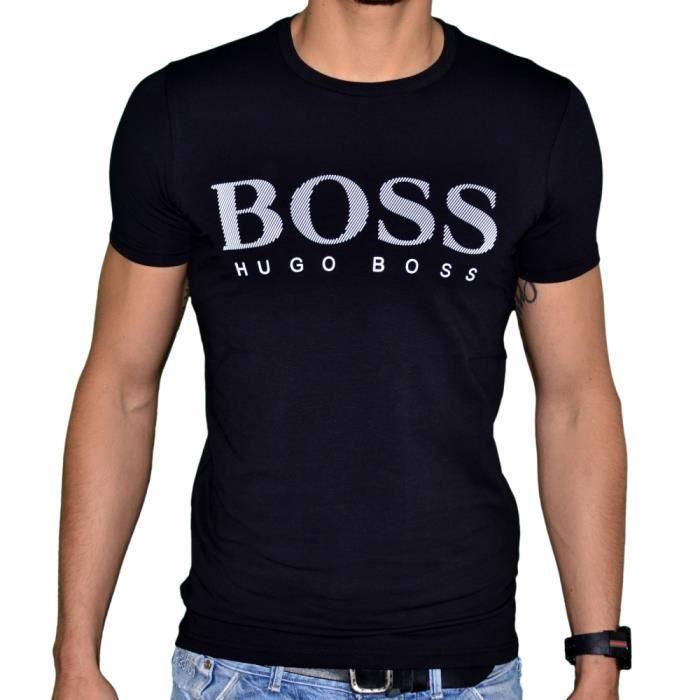 fe2c5c59476 La Remise D expédition Bas HUGO BOSS Tshirt imprimé Magasin À Vendre ...