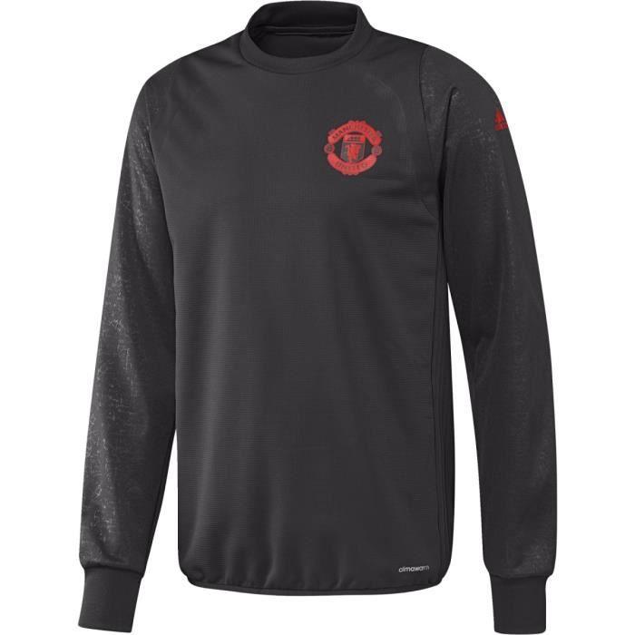 Sweat Adidas Manchester United - S96142 Noir Noir - Achat   Vente ... d99d2c782057