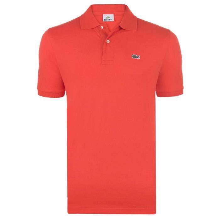 Original Fit Orange Polo Lacoste L Manches Mangue 12 Courtes 12 Fq6BxZw