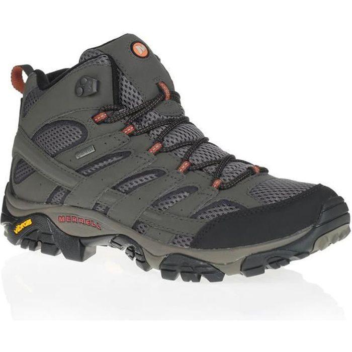 9a84ae19c3fa8 Merrell Moab 2 Mid GTX Walking Boots - Prix pas cher - Cdiscount