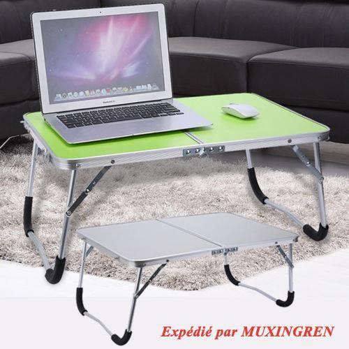 Table Pour Ordinateur Portable Portatif Foldable Pour Pique Nique