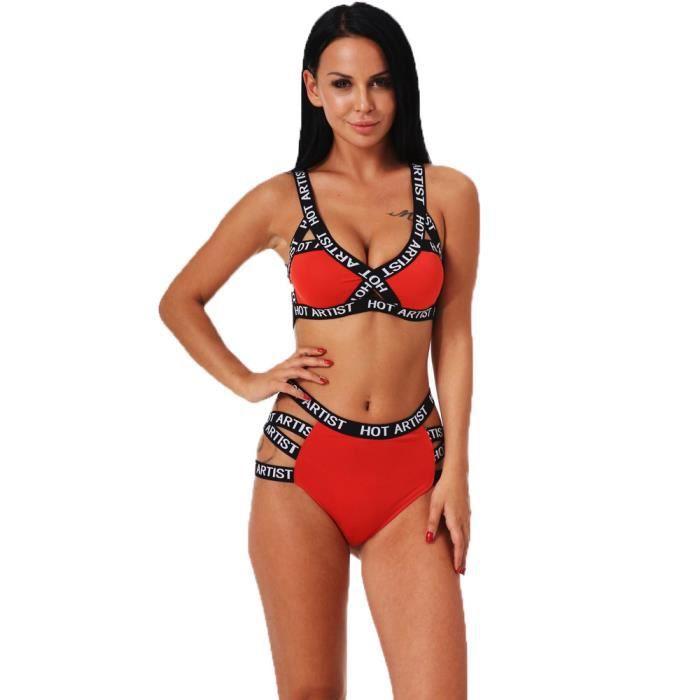 Set Soutien Lingerie Slip vêtements Push Corset Sous Sport Up Bandage Ljl80524132rdl Rouge gorge Sexy Femmes vwxIqvr