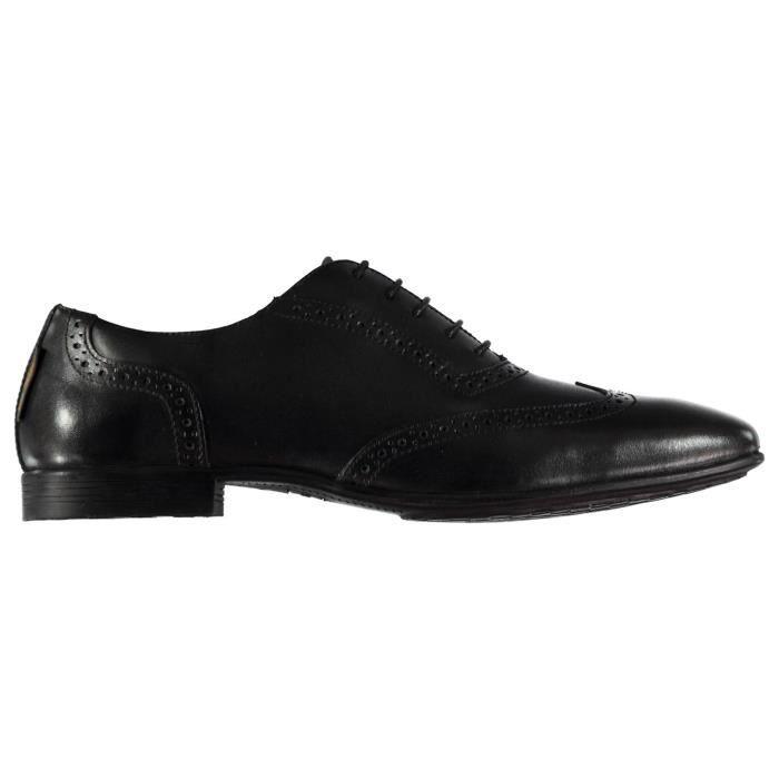 bbdf273d325c0a Ben Sherman Arrow Chaussures Richelieu À Lacets Homme Noir Noir ...