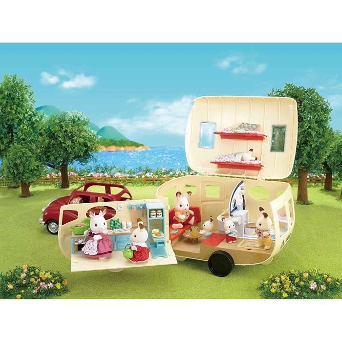 Sylvanian Families 5045 Caravane Achat Vente Accessoire De