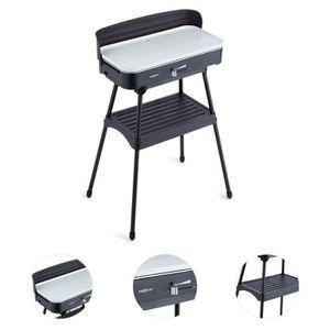 Barbecue electrique avec couvercle achat vente pas cher - Barbecue electrique sur pied avec couvercle ...