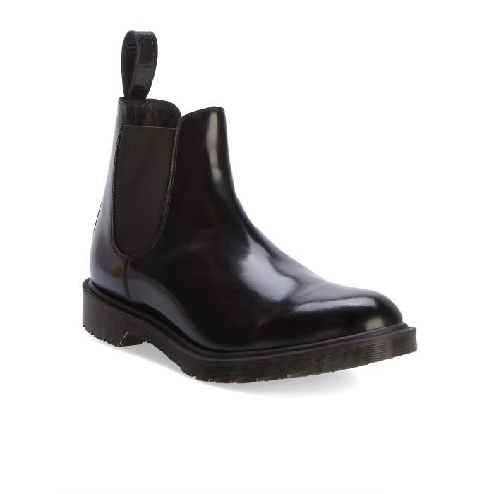Cuir homme Chelsea pour UK Made in Noir Lisse Boots aqqO8wxI