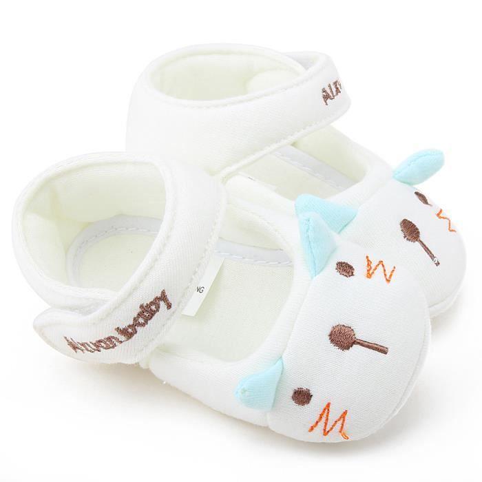BOTTE Nouvelle mode bébé fille garçon doux semelle antidérapante coton Toddler chaussures@BeigeHM