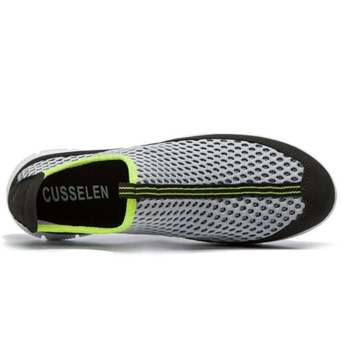 Chaussure Homme Été Qualité Supérieure Casual Classique Chaussures Maille Respirant Super Léger Nouveau Grande Taille Hommes