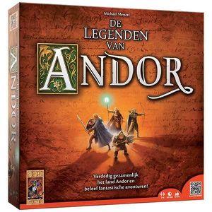 JEU SOCIÉTÉ - PLATEAU 999 Games De Legenden van Andor, Jeu de rôles, 75