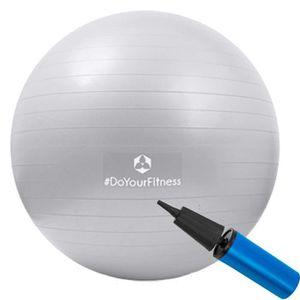 BALLON SUISSE-GYM BALL 55 cm Ballon de gymnastique »Orion« avec pompe - p
