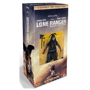 BLU-RAY FILM Lone Ranger - Coffret Blu-ray + 2 FIGURINES