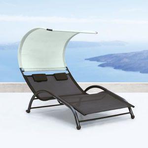 bain de soleil double achat vente bain de soleil double pas cher cdiscount. Black Bedroom Furniture Sets. Home Design Ideas