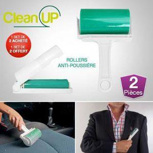 DÉPELUCHEUR DE VÊTEMENT Set de 2 Rollers anti-poussières Clean UP®, ach...