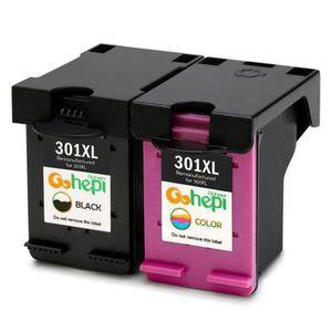 CARTOUCHE IMPRIMANTE Compatible HP 301 xl noir et couleur cartouches co