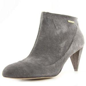 BOTTINE DIESEL boots cuir MIYUKI gris