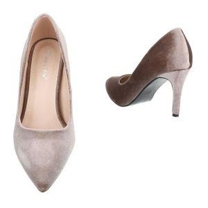 Chaussures femmes l'escarpin High Heels rose 40 1bvftFHR
