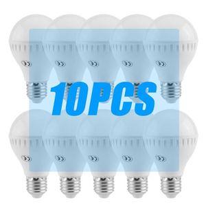AMPOULE - LED 10 PCS 7W Ampoule E27 Warm White lumière intérieur