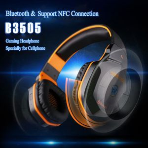 CASQUE AVEC MICROPHONE KOTION CHAQUE B3505 Casque sans fil Bluetooth 4.1