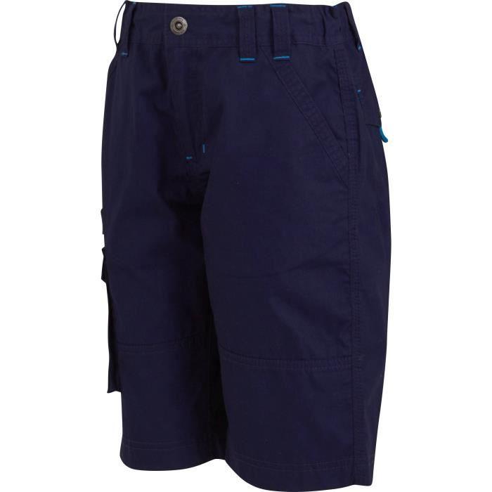 ATHLI-TECH SHORT Garçon - Bleu marine