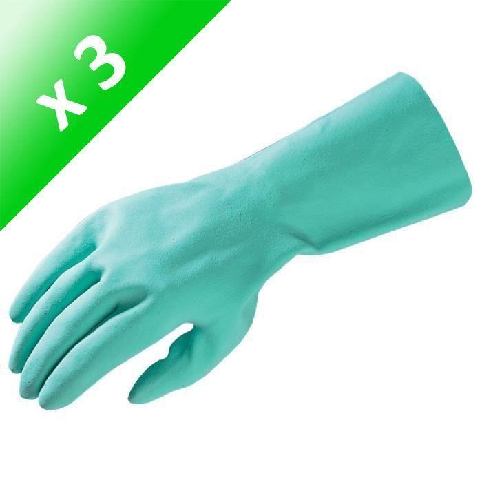 MAPA Gants de ménage ultra confort taille 6/S (Lot de 3)
