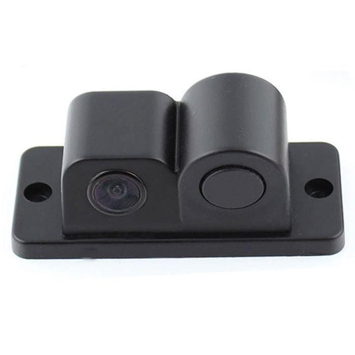 2 en 1 Caméra de recul radar capteurs radar capteurs noirs caméra de secours caméra arrière caméra étanche