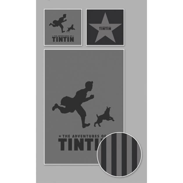 Housse De Couette Tintin Shadow Black 20 Achat Vente