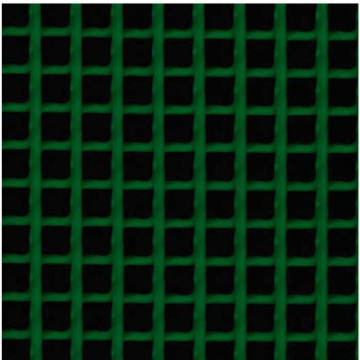 Grillage plastique maille carrée Catral Vert L... - Achat / Vente ...