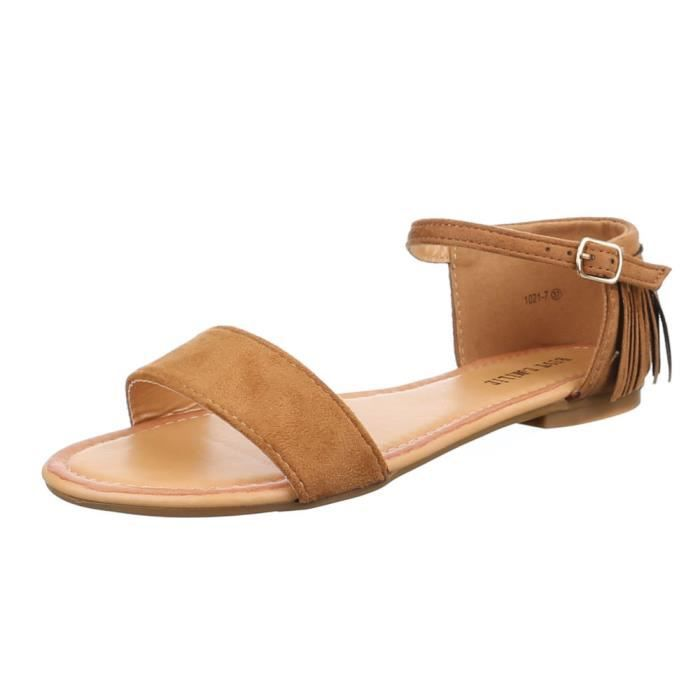 new product innovative design buying now Femme sandale chaussure de Dianette Western Style effilé ...