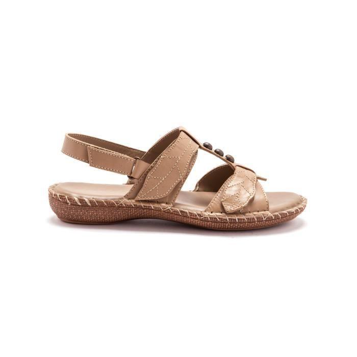 Sandales à ouverture totale, p