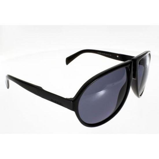 79196897d063e0 DIESEL DL 0093 S NOIR Homme Indice 3 Verres gris - Achat   Vente lunettes  de soleil Homme Adulte - Soldes  dès le 9 janvier ! Cdiscount