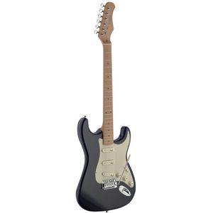 STAGG SES50M-BK Guitare Electrique - Vintage Noir