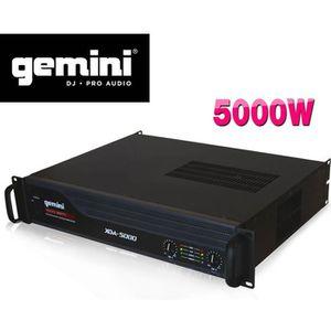 AMPLI PUISSANCE Gemini Ampli Gemini XGA 5000 de 500W IPP