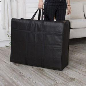 housse de rangement sous lit achat vente housse de rangement sous lit pas cher cdiscount. Black Bedroom Furniture Sets. Home Design Ideas