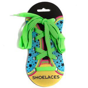 LACET  Shoelaces Homme Femme Enfant Lacets Vert U