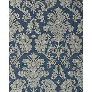 papier peint baroque bleu achat vente papier peint baroque bleu pas cher cdiscount. Black Bedroom Furniture Sets. Home Design Ideas