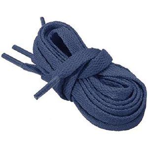 LACET  Lacets Chaussures Sport Plats Larges Bleu foncé
