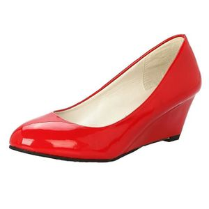 MOCASSIN Chaussure a bout rond a plateforme a bas talons cl
