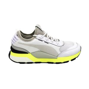 BASKET PUMA SNEAKERS RS-0 TRACKS  WHITE-FIZZY YELLOW 3693