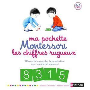 LIVRE PARENTALITÉ Livre - ma pochette Montessori ; les chiffres rugu