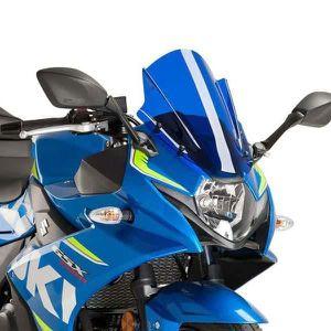 BULLE - SAUTE VENT Bulle Puig RACING colorée (9722) Suzuki GSX-R250 1