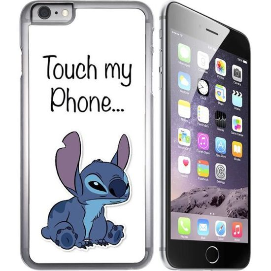 coque iphone 8 don t touch my phone