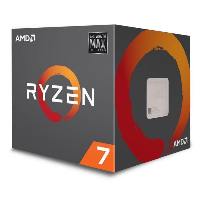 AMD Processeur Ryzen 7 2700 MAX - (YD2700BBAFMAX)