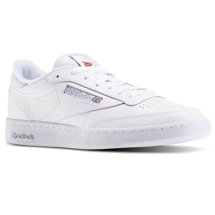 REEBOK Baskets Club C85 Cuir Chaussures Homme
