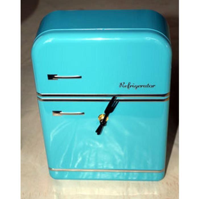 horloge horloge frigo bleu - Frigo Bleu