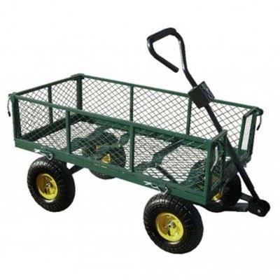 Chariot de jardin remorque charge max 350 kgs achat - Chariot de jardin leroy merlin ...